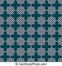 3d seamless pattern in arabic style