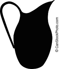 a pot silhouette