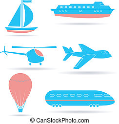 A set of vector icons. EPS10
