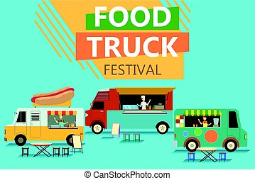 Street Food Truck Festival Poster
