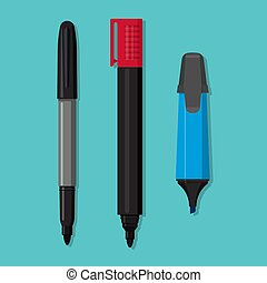 A vector set of markers