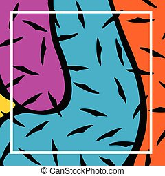 Abstract Colourful Template Background Vector Illustration