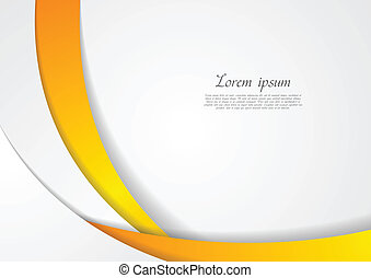 Abstract corporate wavy backdrop. Vector design