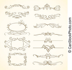 abstract decorative elements