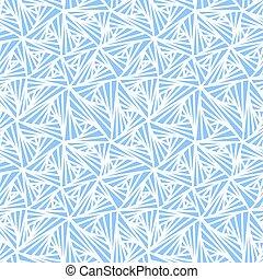 Abstract Geometric Light Blue Vector Pattern