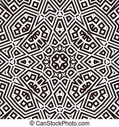 Abstract geometric pattern background, vector illustration