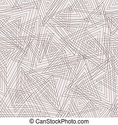 Abstract geometric seamless pattern. Vector