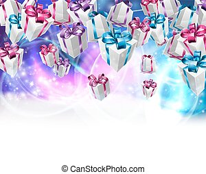 Abstract gifts background