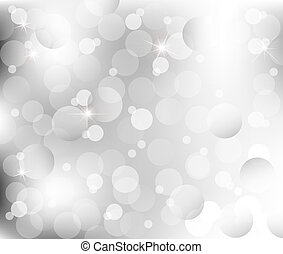abstract Lights on gray silver background vector illustration