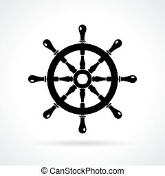 Abstract maritime icon