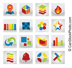 Abstract Mobile Application Logo