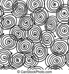 Abstract swirl pattern for your design