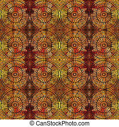 Abstract vector ethnic seamless pattern