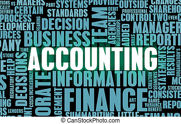 Accounting and Finance Law Concept as a Art