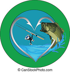 with fish sticker