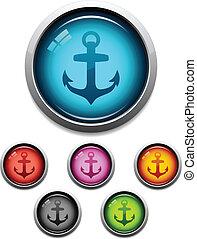 Anchor button icon