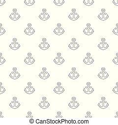 Anchor pattern vector seamless