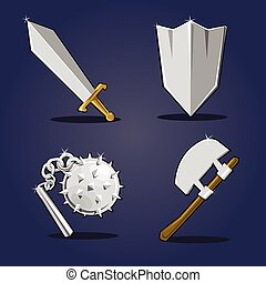 Ancient weapon collection