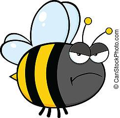 Angry Bee Character