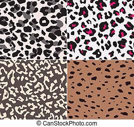 animal skin fabric seamless pattern