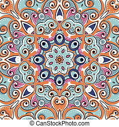 Arabic ornament, seamless pattern for your design