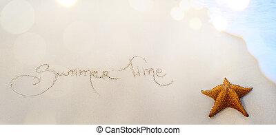 art summer time background