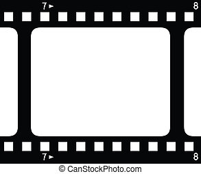 Backgroud with film strips