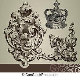 Baroque ornaments