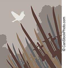 Bayonet bird