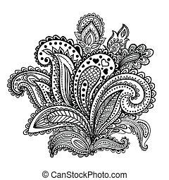 Beautiful Indian paisley ornament