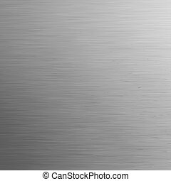 Brushed metal, template background. EPS 8 vector file included