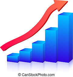 Business growth graph