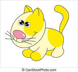 Cartoon animal. Vector