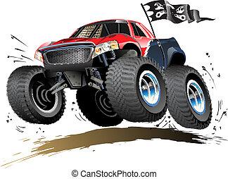 Cartoon Monster Buggy