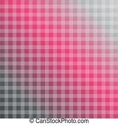 Chequered Background in hot pink