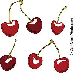 Cherries Set