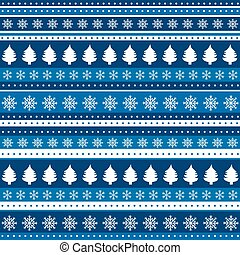Christmas blue background wrapping paper