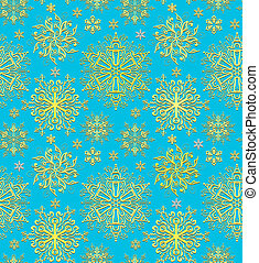 Christmas blue paper wrapping background. Abstract seamless pattern texture