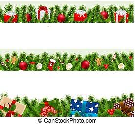 Christmas Borders Big Set