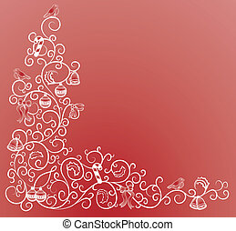 christmas corner pattern
