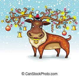 Christmas Deer.