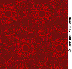 Christmas red paper wrapping background. Abstract seamless pattern texture