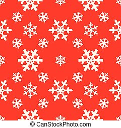 Christmas snowflakes seamless pattern for xmas wrapping paper