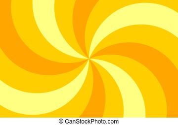 Circus yellow background