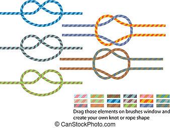 Climbing rope pattern