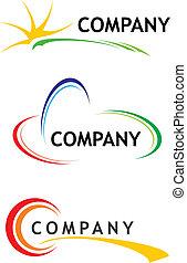 Corporate logo templates
