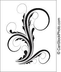 Swirl Floral Shape