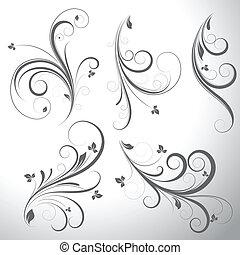 Swirls Vector Elements