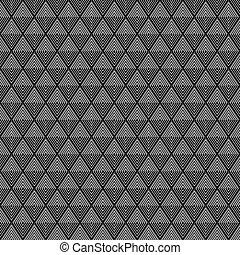 creative triangle strip pattern