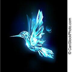 Crystal Hummingbird